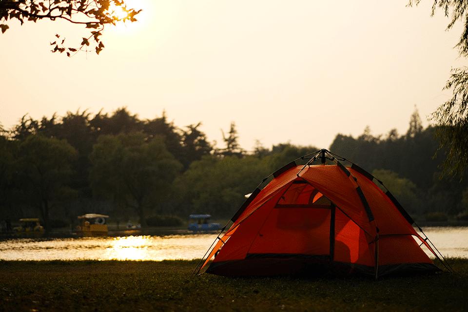 camping at lake guntersville