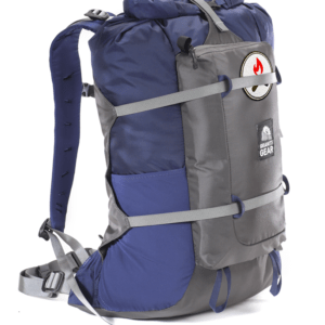 Scurry Unity Midnight Blue Ultralight Backpack Side View