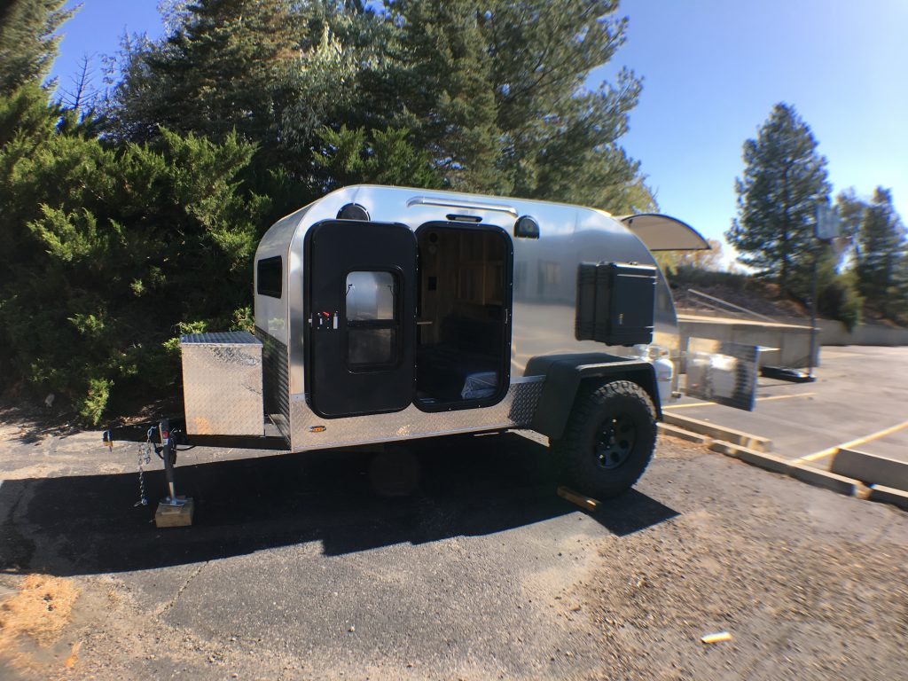 Colorado Teardrops is the first RV manufacturing partner of Black Folks Camp Too.